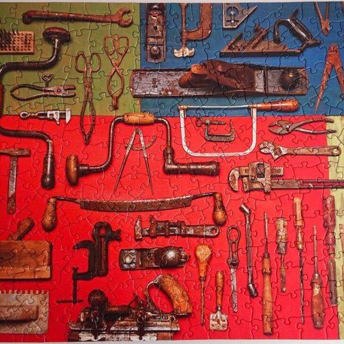 Puzzle Cobble Hill - Vintage Tools - 275 pieces