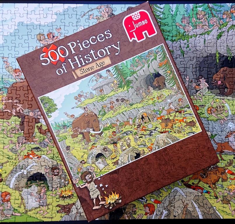 Puzzle Jumbo - Stone Age - 500 pieces