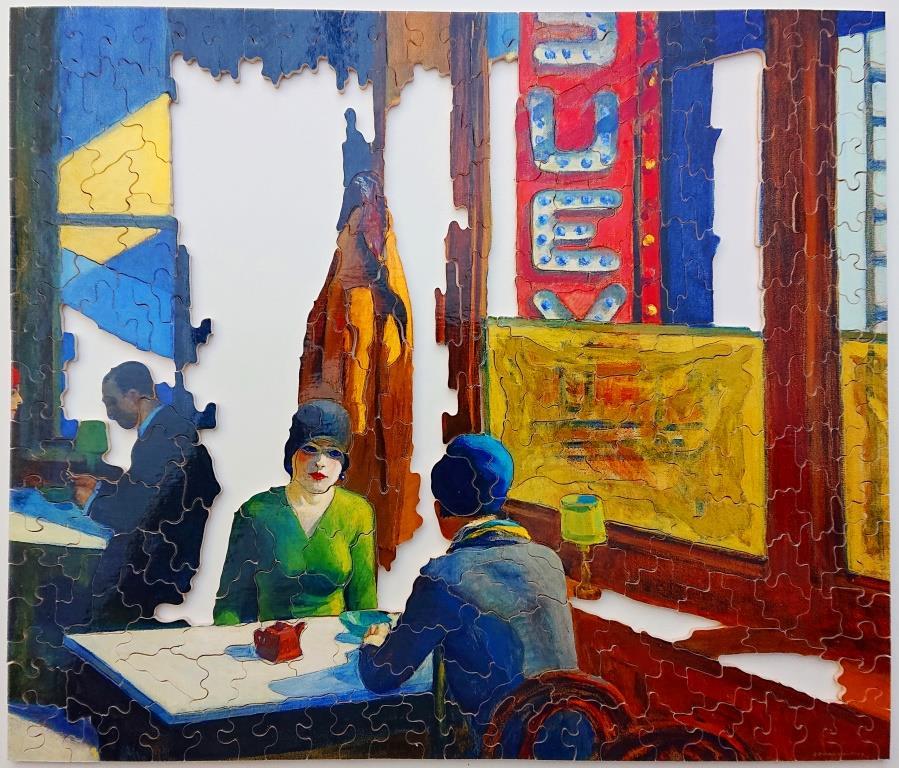 Puzzle Michele Wilson - Edward Hopper - Chop Suey - 350 pieces