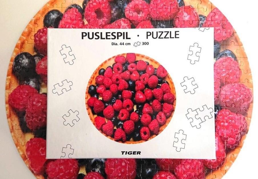 Tiger Puzzle - Berries - 300 pieces