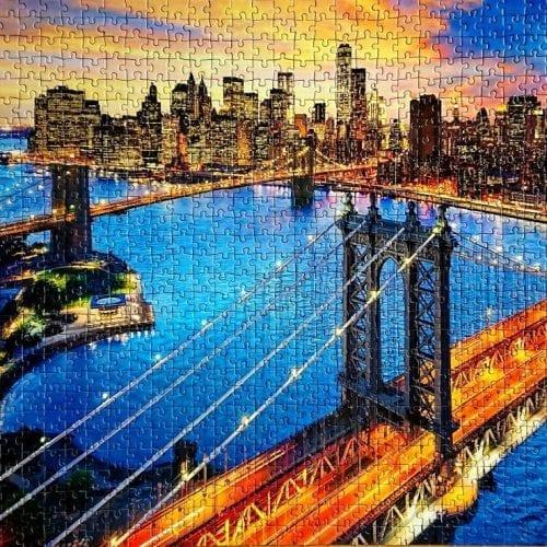 Clementoni Puzzle - Fluorescent Collection - New York - 1000 pieces