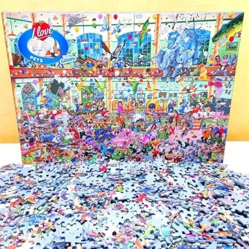 Gibsons Puzzle - I Love Pets - 1000 pieces