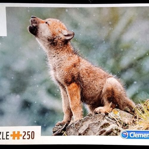 Clementoni Puzzle - Baby Wolf - 250 pieces