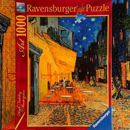 Ravensburger Puzzle - Cafe at Night - 1000 pieces