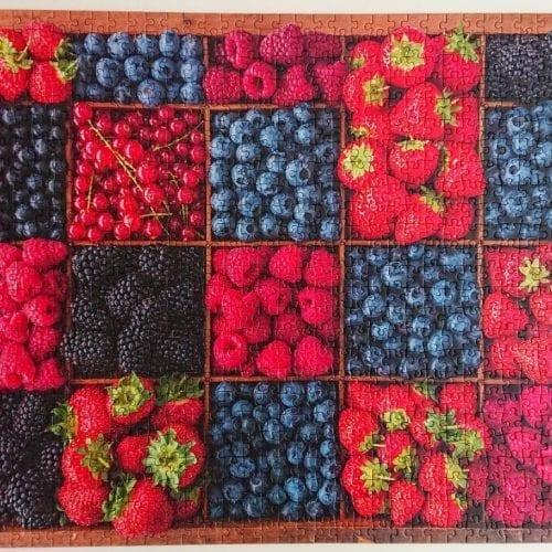Schmidt Puzzle - Berry Harvest - 1000 pieces