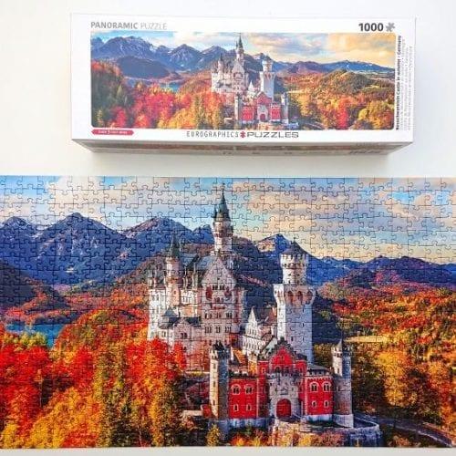 Eurographics Puzzle - Neuschwanstein Castle in Autumn, Germany