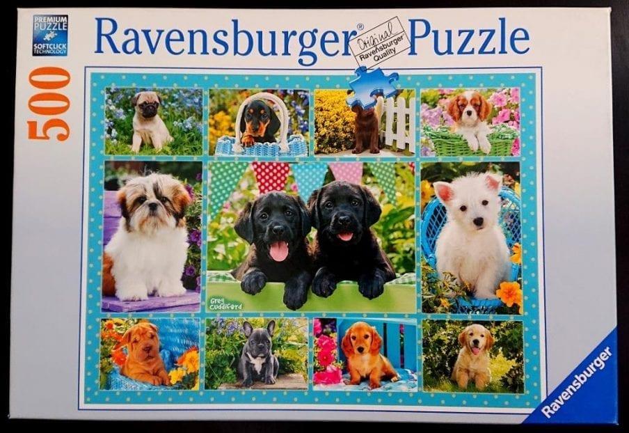 Ravensburger Puzzle - Puppy Love - 500 pieces