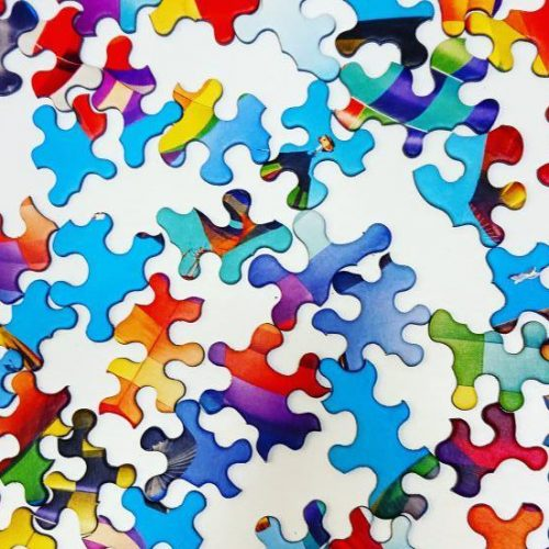 Trefl Puzzle - Crazy Shapes - Colorful Balloons - 600 pieces