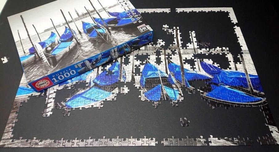Educa Puzzle - Gondolas en Venecia - 1000 pieces