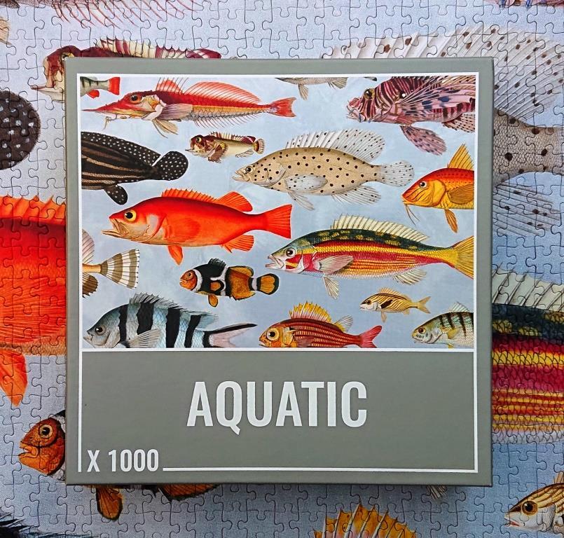 Cloudberries Puzzles - Aquatic - 1000 pieces