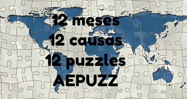 12 meses - 12 causas - 12 puzzles AEPUZZ