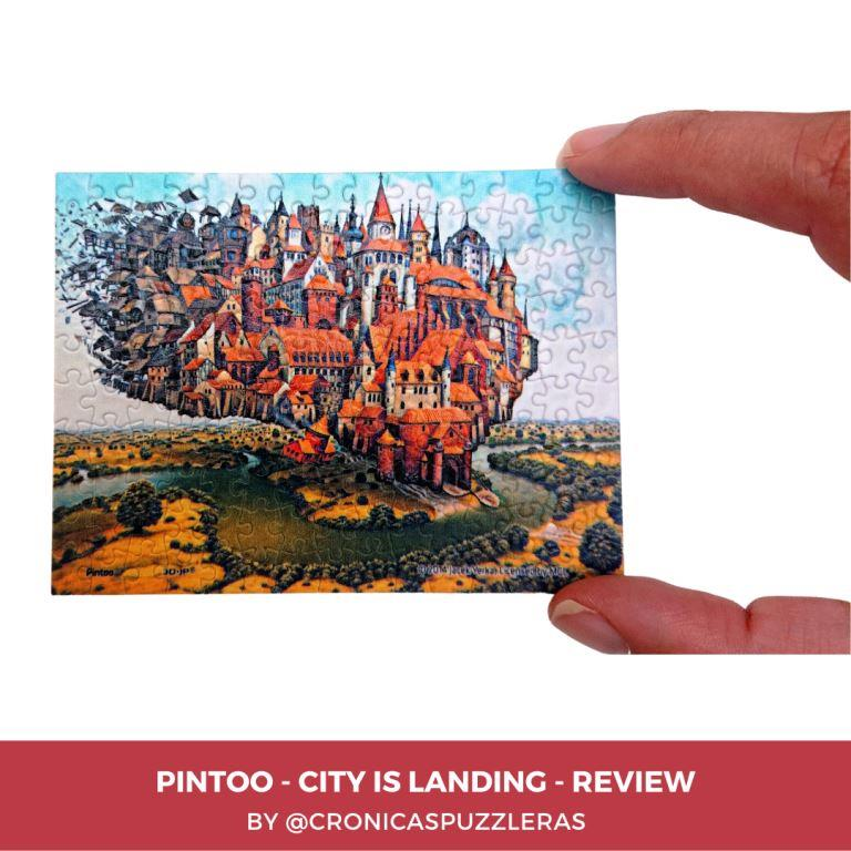 Pintoo Puzzle Review - City is Landing