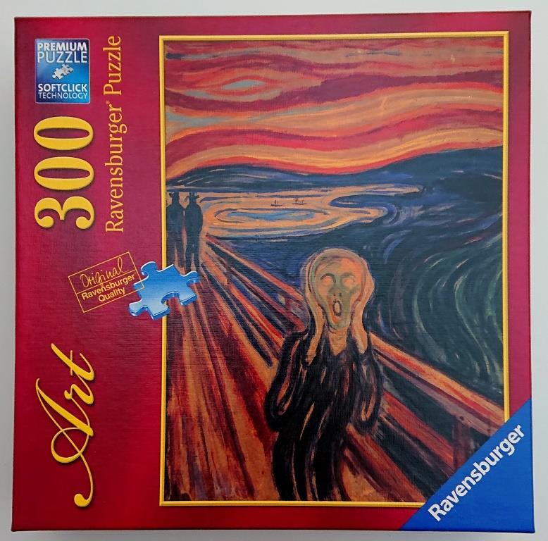 Ravensburger Puzzle - El Grito The Scream - 300 piezas