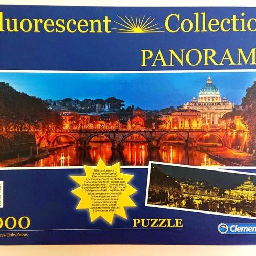 Clementoni Puzzle - 97680 - Fluorescent Rome - 1000 pieces