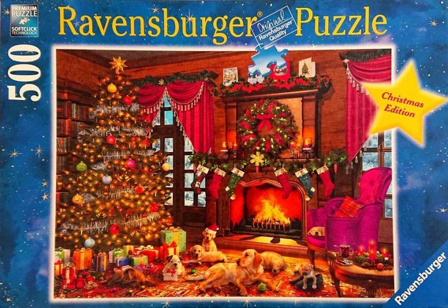 Ravensburger Puzzle - 14707 - Cuddle Christmas - 500 pieces
