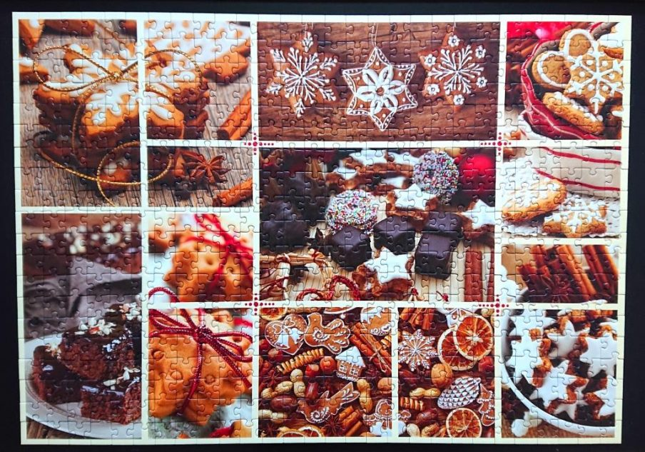 Trefl Puzzle - 37228 - Christmas Sweets - 555 pieces