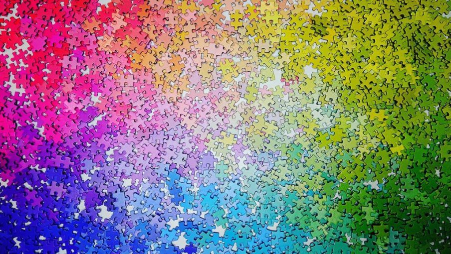 Cloudberries Puzzle - Gradient - 2000 pieces