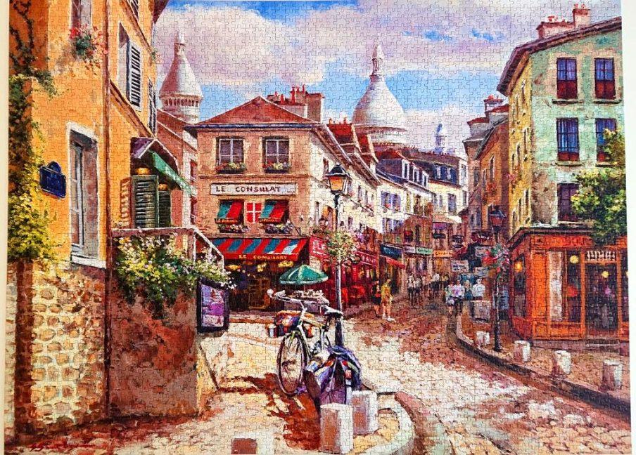Castorland Puzzle - C-300518-2 - Montmatre Sacre Coeur - 3000 pieces