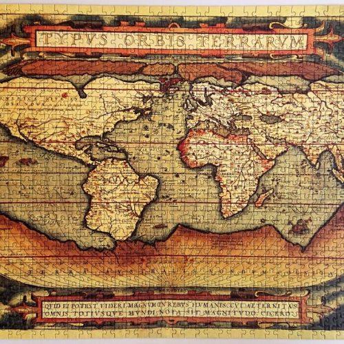 Educa - 13296 a - El Mundo - 2 x 1000 piezas