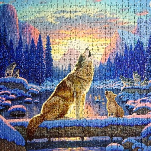 Innovakids GmbH - 11005051 - Lobos - Wolves - 1000 pieces