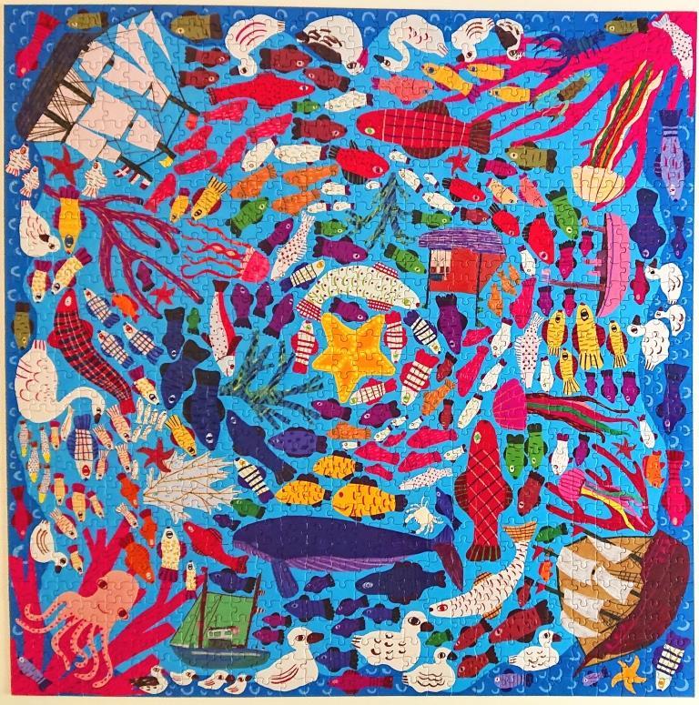 eeBoo Puzzle - PZTBSU - Below The Surface - 1000 pieces