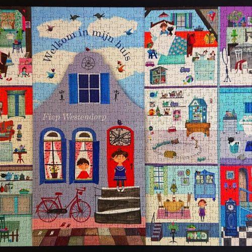 Puzzelman Puzzle - Fiep Westendorp - Welkom in mijn huis - 1000 pieces