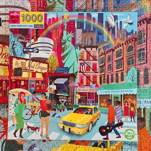 eeBoo Puzzle - New York City Life - 1000 pieces