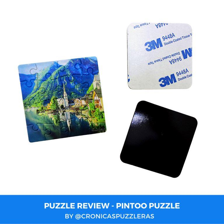 Puzzle Review - Pintoo Puzzle Magnet