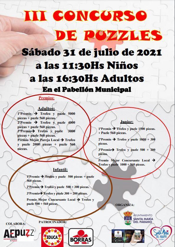 III Concurso de Puzzles Santa Maria del Paramo