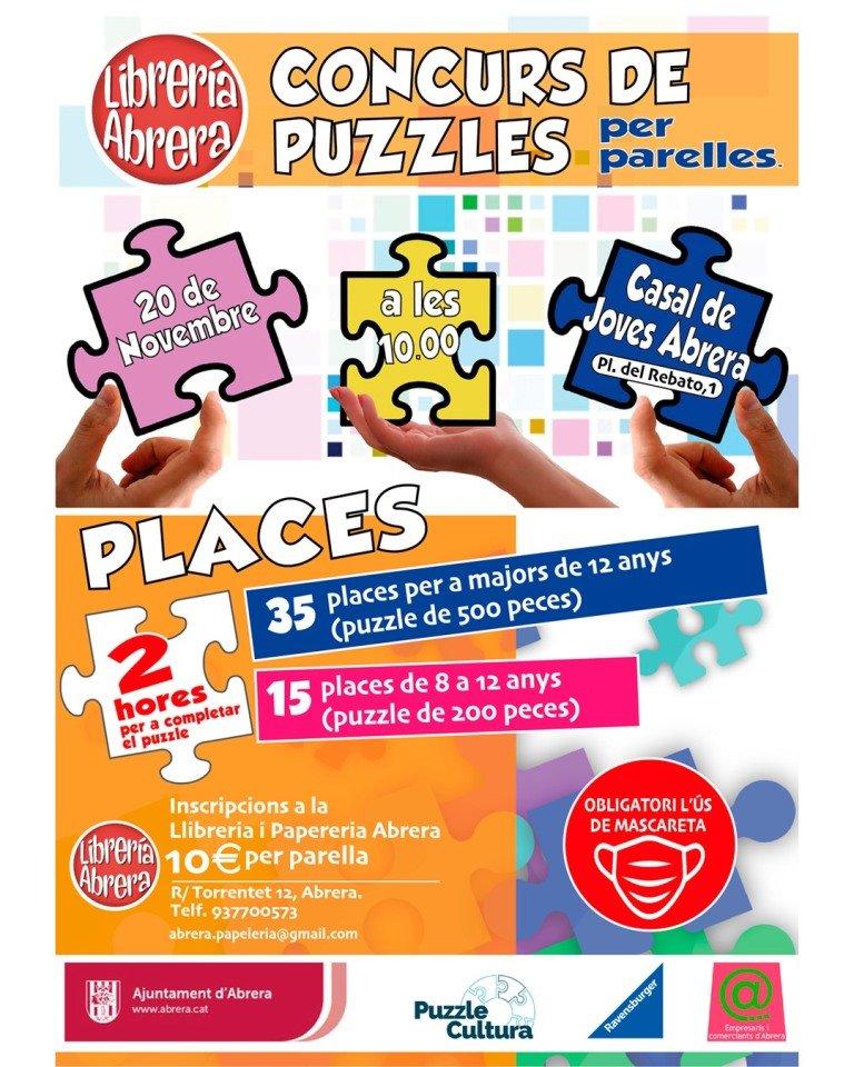 Concurso de Puzzles Libreria Abrera