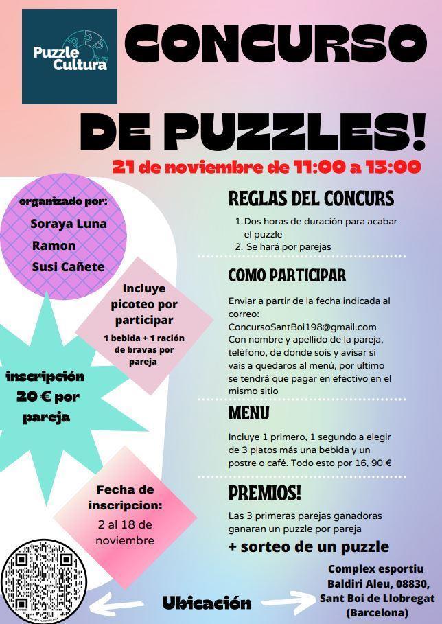 Concurso de Puzzles en Sant Boi